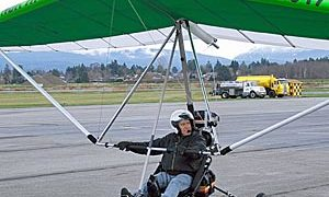 Canada's First Electric-Powered Ultralight