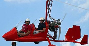 Transcontinental Gyroplane Record Underway Now