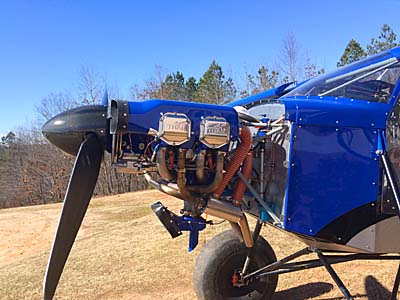 SuperSTOL Gets Superpower with Titan's 180 Horses