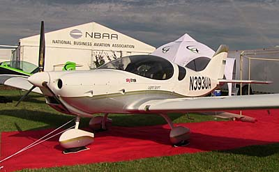 Triton AeroMarine Skytrek at Oshkosh