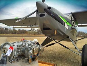 Kitfox Aircraft has installed the Titan X-340 and is currently testing the engine.