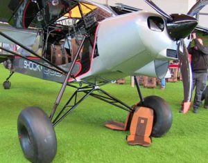Zlin's Shock Cub uses the Titan. Attendees can examine the model at AirVetnrue Oshkosh 2016 under the Outback name at SportairUSA's booth.