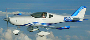 Arion Aircraft's Lightning LS-1, available as a Special Light-Sport Aircraft or a kit. The shape works for Aero Electric's Sun Flyer vision.