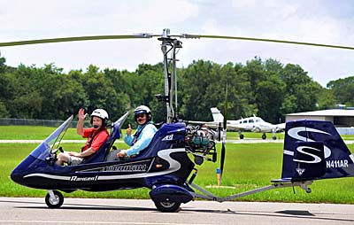 Flying America's First Homegrown Modern Gyroplane