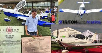 Collage of Triton Skytrek SLSA