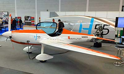 electric powered aerobatic Twister aircraft