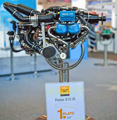 Rotax 915 iS Light Aircraft Engine: Testing & Award - ByDanJohnson com