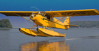 Summertime is Float Flying Time; Legend Cub Has the Gear