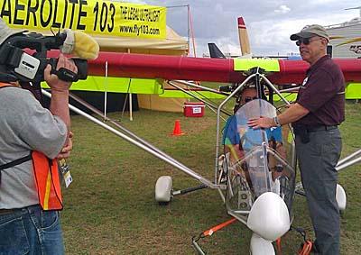 ByDanJohnsoncom News Video On LightSport Aircraft Light Kit - 5 minute video explains airplanes made