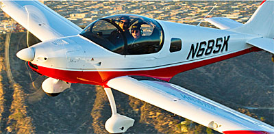 Sling 2 Light-Sport Aircraft or Sling 4 light aircraft kits