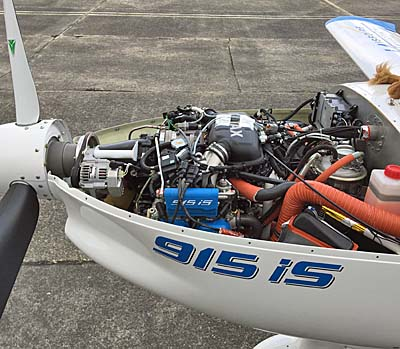 Flying the Rotax 915iS Aircraft Engine — Comparing to 912iS