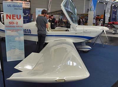 Aero 2018: SD Planes Debuts New SD-2 SportMaster, a Low-Cost