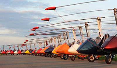 Gyroplanes Are Big Overseas — First Market Share Info for
