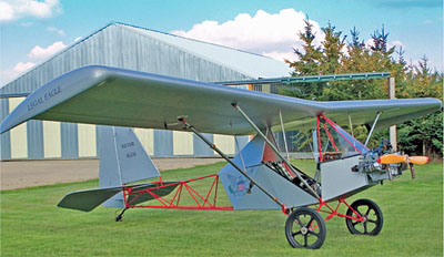 Legal Eagle Is An Exceptionally Low-Cost Ultralight Aircraft