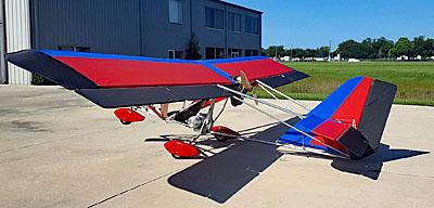 Super Affordability: U-Fly-It's Aerolite 103 Ultralight Aircraft