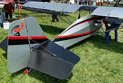 Badland Aircraft — Kitfox Lite, A True Part 103 Ultralight