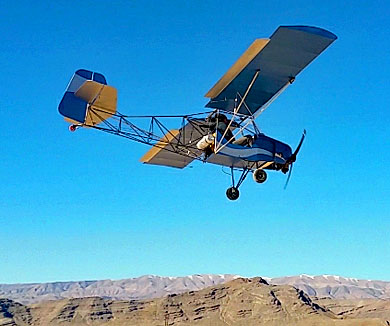 Badland Aircraft — Kitfox Lite, A True Part 103 Ultralight